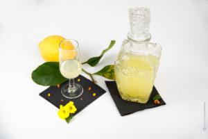 limoncello-bicchiere-bottiglia-vetro-tavolo-ristorante-fotografo